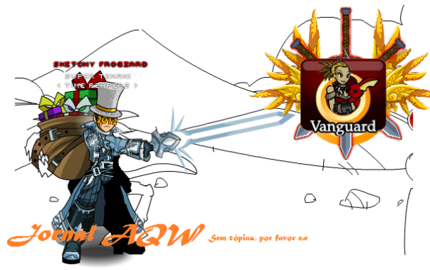 Não copie-Novo badge Vanguard