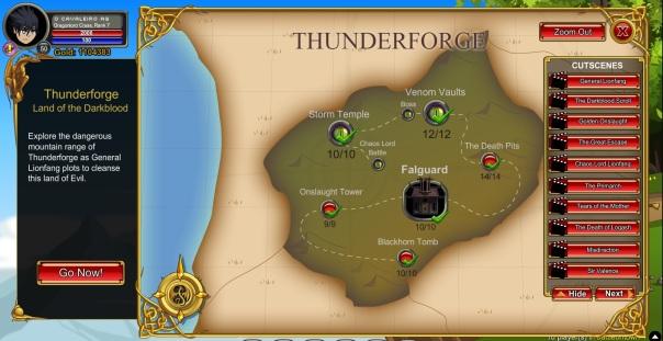 Thunderforge - Lionfang's Saga