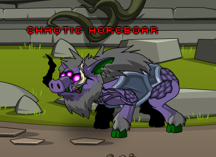 chaotic horcboar