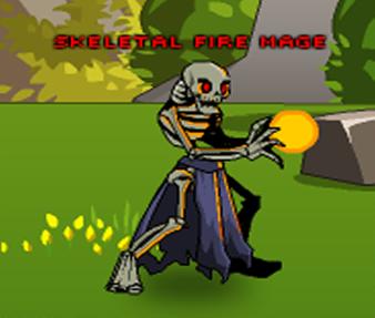 Skeletal Fire Mage