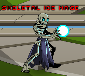 Skeletal Ice Mage