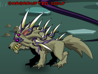 Chaorrupted Wolf