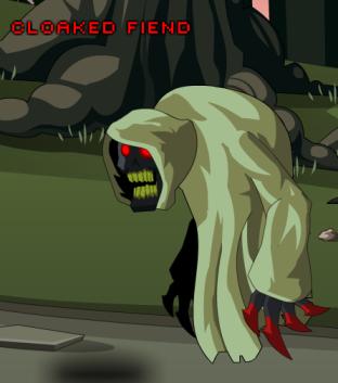 cloadked fiend