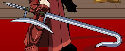 Hook sword
