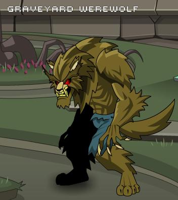 Graveryard Werewolf