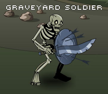 Graveyard soldier