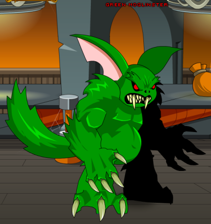 Green moglinster